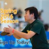 Registration Open for Spring 2016 Season