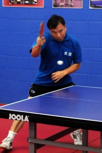 Huy is at attcking while against Paul