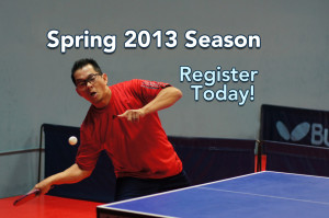 Spring 2013 Season - Register Today!
