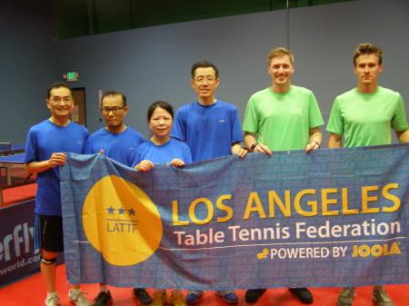 Scott, Peter, Ling Ling, Denwun, Clayton, and Micah