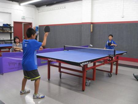 Andrew Grigor & Haik Mherian vs. Tiffany Cai & Timothy Cai