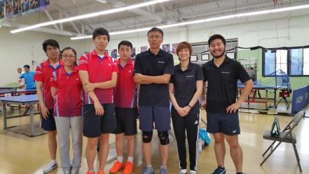 Franz Zhao, Gloria Deng, Hawk, Tae Kim, Yong Ji, Yuna So, Peter Wu