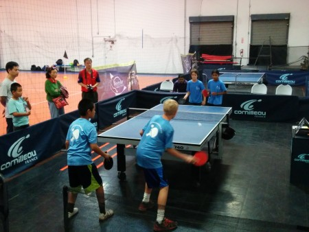 Hunter Wang & Donny Robbins vs Alexander Kuzmenko & Sarayu Kocharlakota