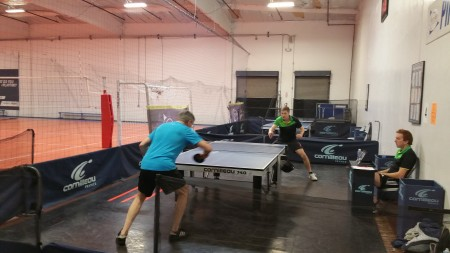 Matt and Clayton do battle in the first match.