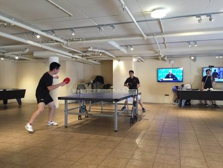 First Match: TJ vs. Yining