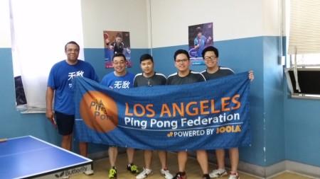 L-R: Ron Morgan, Charles Kim, Huy Doan, Hung Nguyen, and Thanh Nguyen