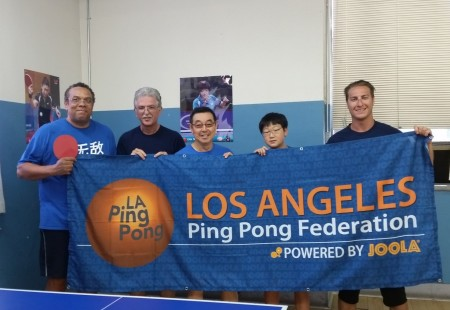 L-R: Ron Morgan, Matt Averbukh, Charles Kim, Youngwook (Brian) Min, and Will Graff